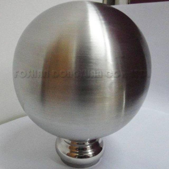 200mm Stainless Steel Hollow Brushed Ball/Sphere
