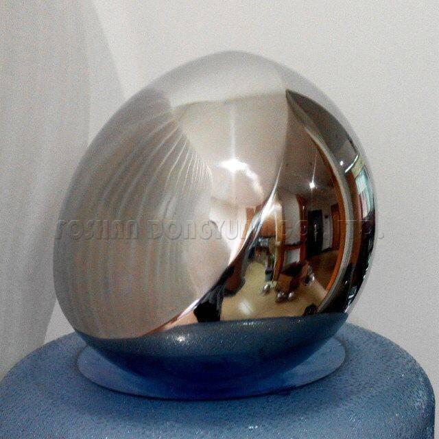 Polished Convex Stainless Steel Hollow Ball