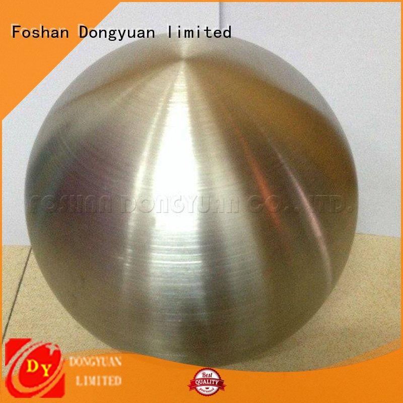 DONGYUAN Brand sandblasted spun aluminum hollow factory