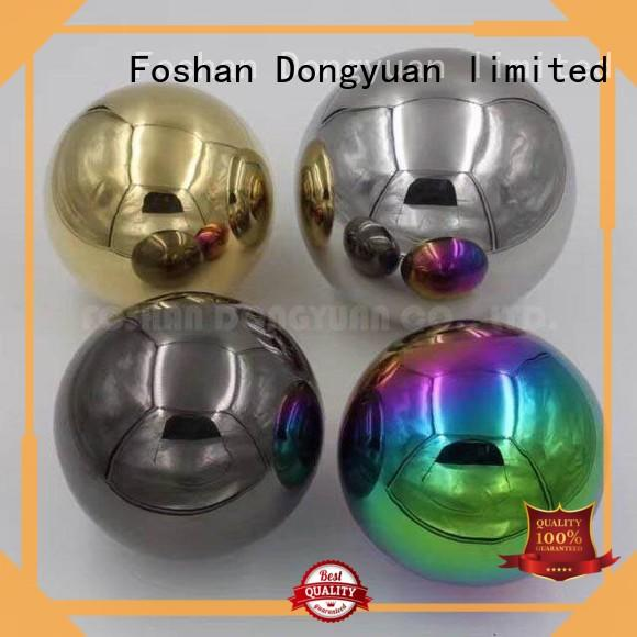 Top 6MM to 300MM metal hollow balls convex manufacturers for outdoor