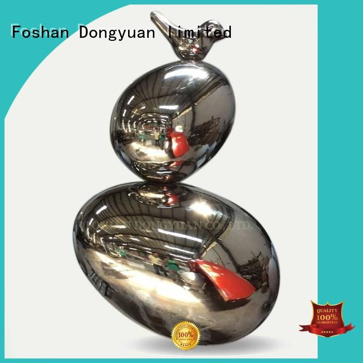 Quality DONGYUAN Brand pilgrimage decoration contemporary metal art