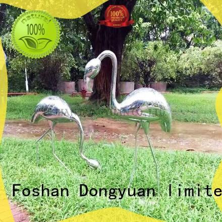 soccer metal animal sculptures for the garden with good price for street DONGYUAN