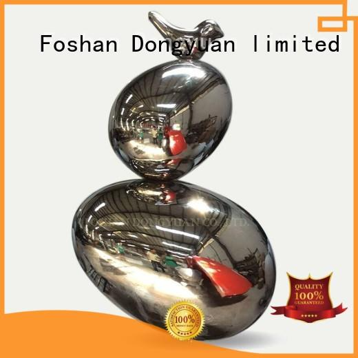 DONGYUAN figure metal fish art suppliers for hall