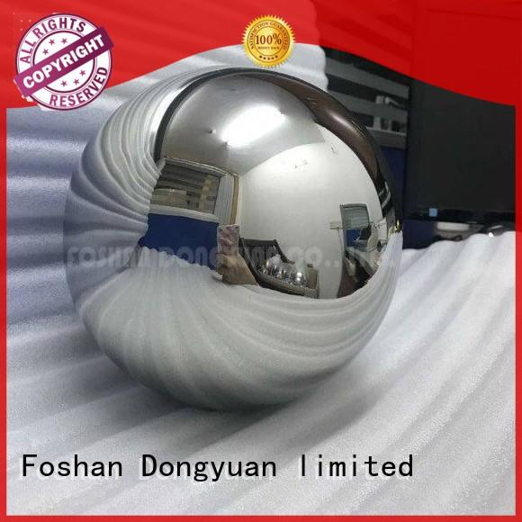 stand hollow steel balls fountain DONGYUAN company