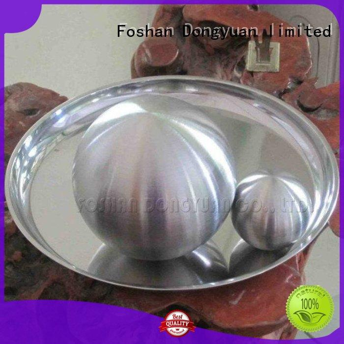 DONGYUAN sandblasted sphere steel directly sale for livingroom