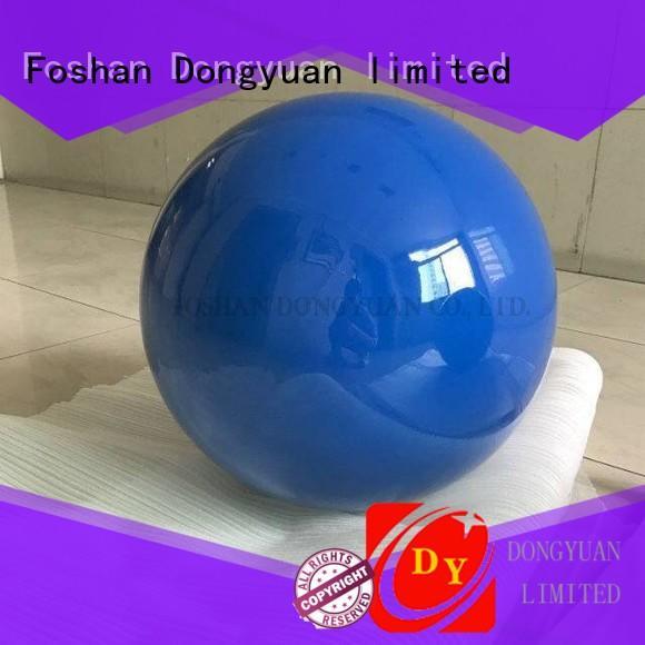 cheap steel balls decorative for outdoor DONGYUAN