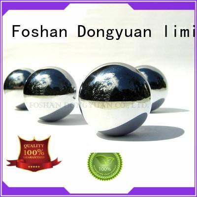 steel gazing balls feet convex hollow steel balls garden DONGYUAN Brand