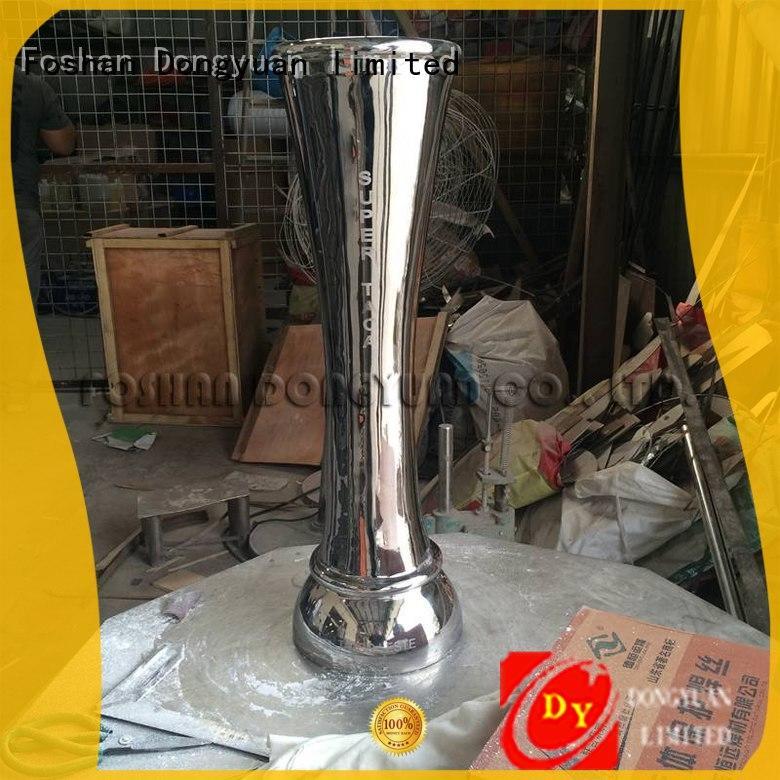 Polished Metal Award Trophy