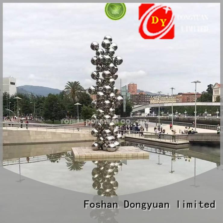 New large metal art 1000mm suppliers for street