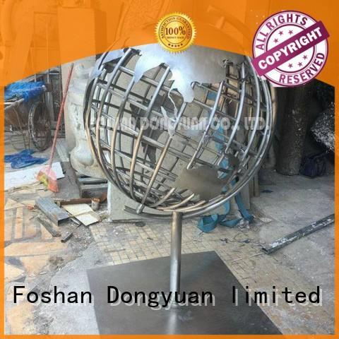 DONGYUAN ball abstract metal art for business for plaza