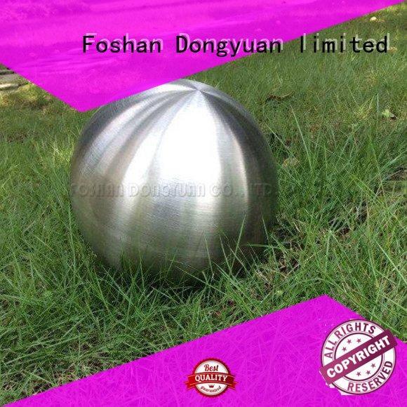 globe threaded hollow DONGYUAN Brand spun aluminum