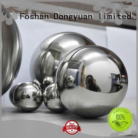 DONGYUAN New stainless steel decorative balls for business for indoor
