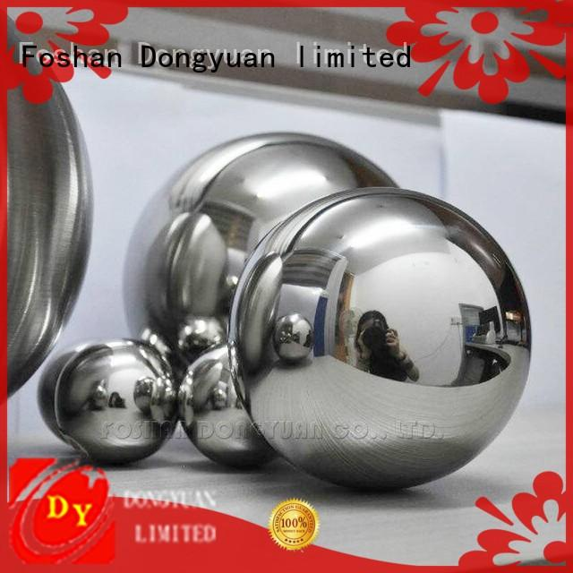 DONGYUAN polished hollow steel balls spheres supplier for hall