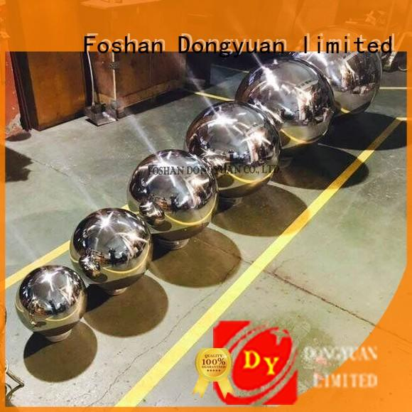 beads hollow steel balls outdoor stainless DONGYUAN company