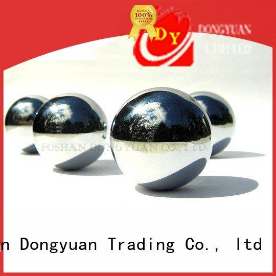 DONGYUAN decoration hollow steel balls finished