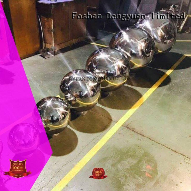 DONGYUAN garden 300MM to 3000MM metal hollow balls suppliers for hallway