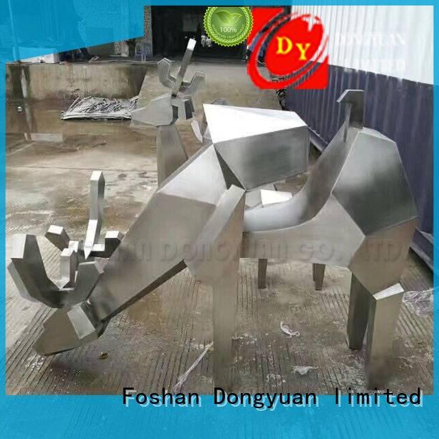 DONGYUAN tall large metal art sculptures manufacturers for street