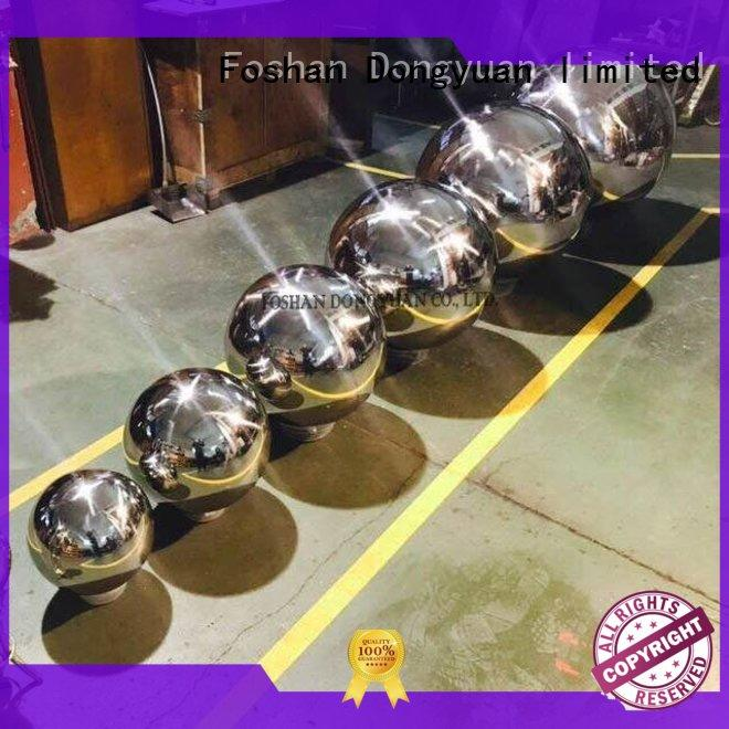 DONGYUAN mirror 300MM to 3000MM metal hollow balls suppliers for indoor