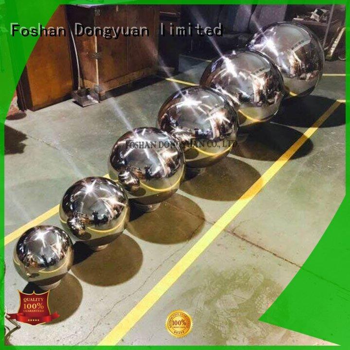 decorative 300MM to 3000MM metal hollow balls garden customized for livingroom