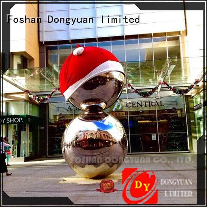 DONGYUAN polished 300MM to 3000MM metal hollow balls inquire now for livingroom