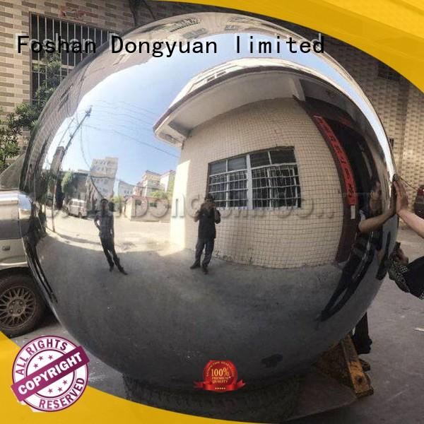 6 Feet Mirror Outdoor Stainless Steel Decoration Ball with Stand