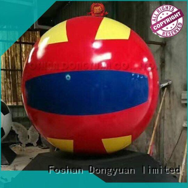 DONGYUAN Wholesale rose gold balls manufacturers for outdoor