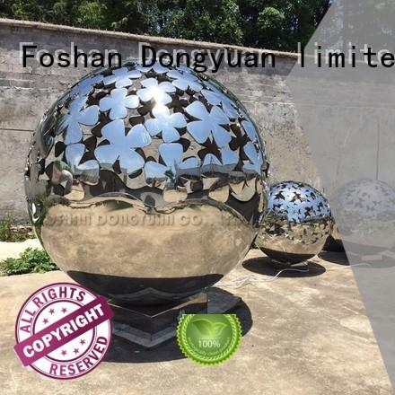 DONGYUAN High-quality outdoor metal sculptures animals for business for park