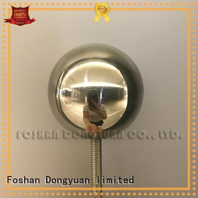3 Inch Polished Stainless Steel Hollow Ball with M8 Threaded Rod