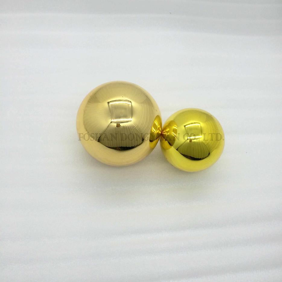 42mm, 25mm Golden Color Balls