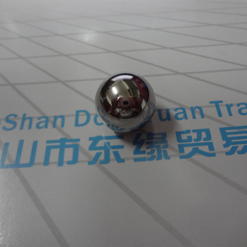 19mm Polished Stainless Steel Hollow Ball with Female Thread