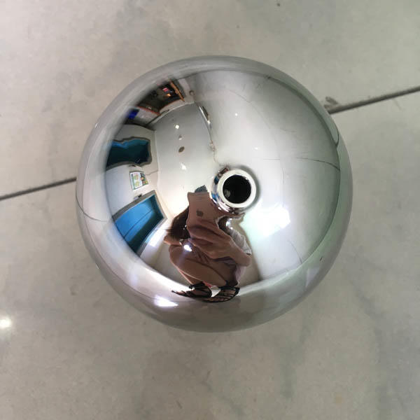 80MM Stainless steel holllow balls with screw M8