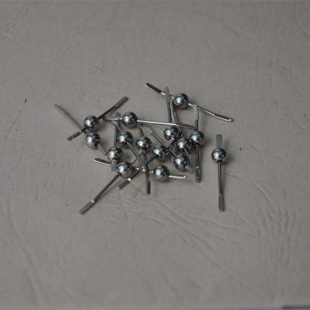 Stainless Steel Bead with Wire