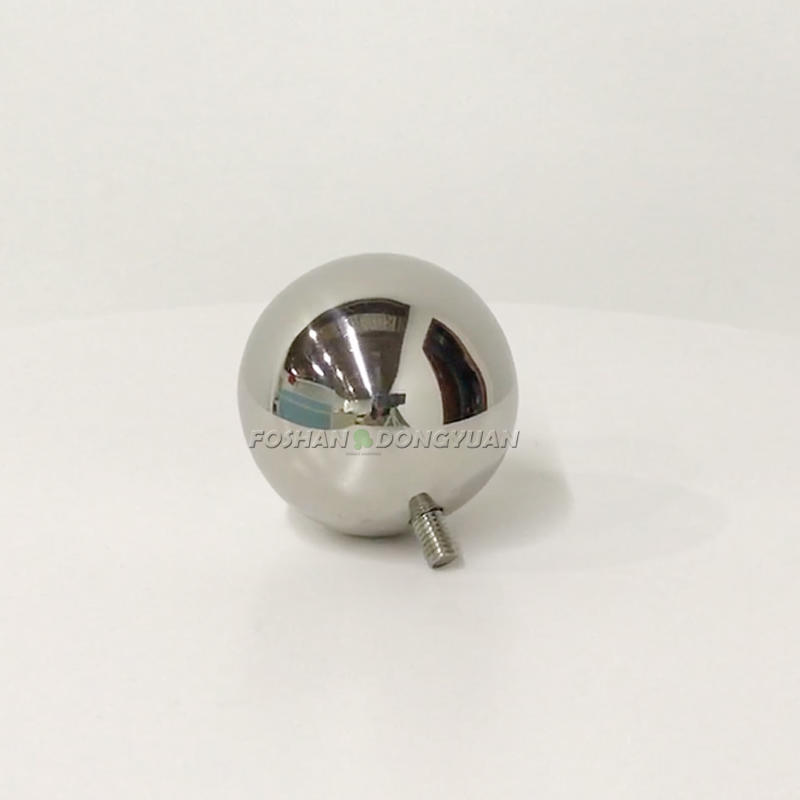 42mm Stainless Steel Polished Ball with M5 Thread Rod