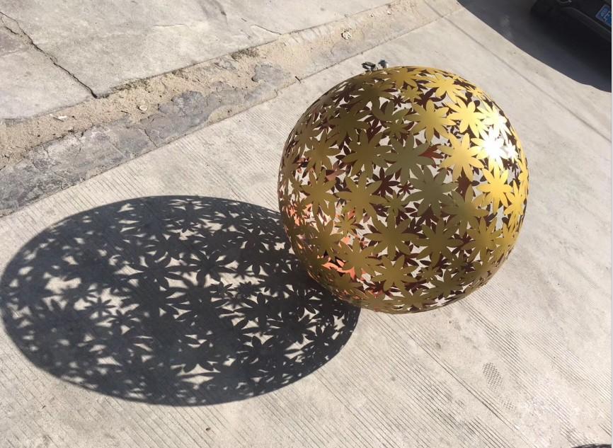 Flower hollow ball/sphere