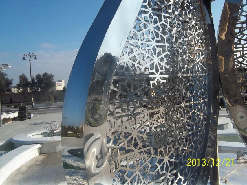 Sculpture in Baku palace