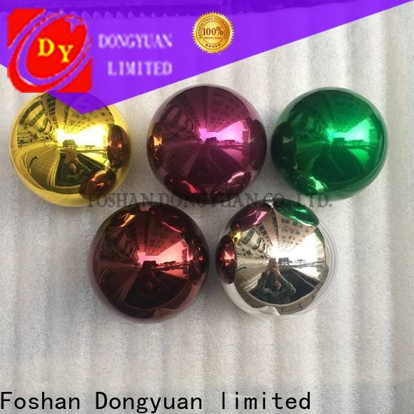 DONGYUAN paintedgold stainless steel magnetic balls supply for street