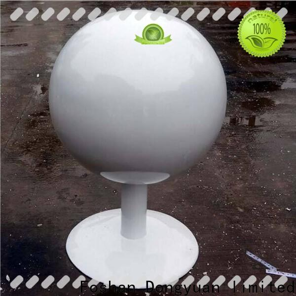 DONGYUAN light cheap steel balls for business for plaza
