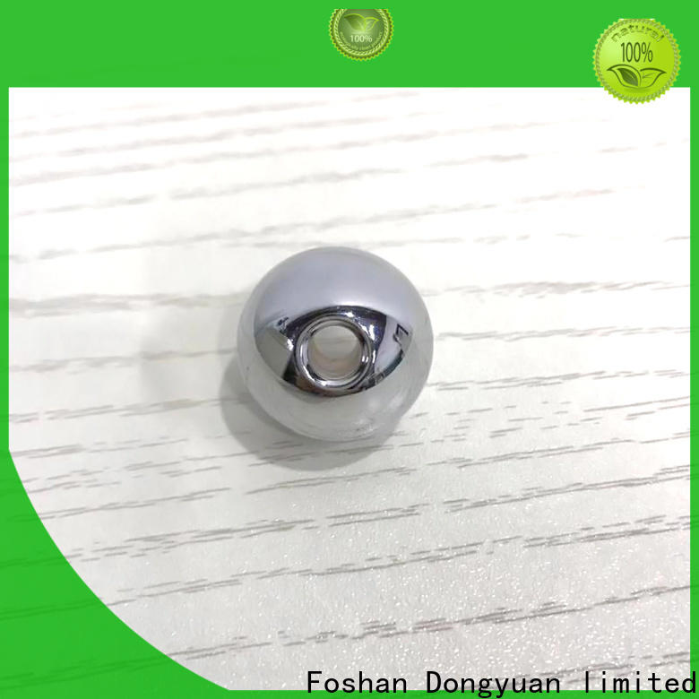 Custom Metal solid balls processing sixhole suppliers for square
