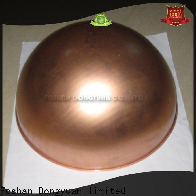 DONGYUAN Custom copper decorative balls suppliers for square
