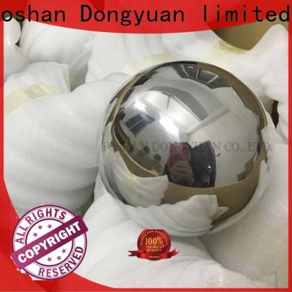 DONGYUAN Custom large solid copper ball suppliers for park