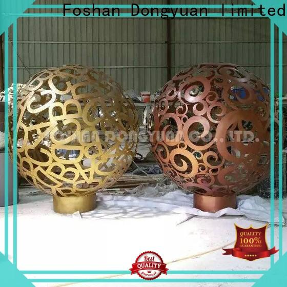 Wholesale metal flower art feature factory for plaza