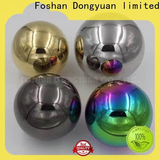 Top 6MM to 300MM metal hollow balls concave company for outdoor