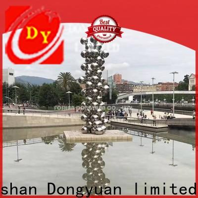 DONGYUAN Top abstract metal art sculptures suppliers for outdoor