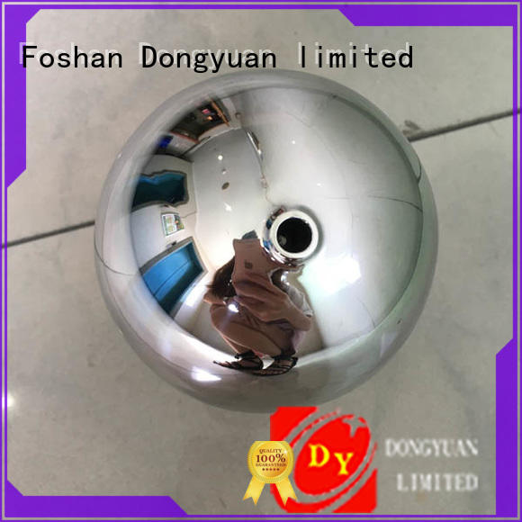 DONGYUAN 10mm 6MM to 300MM metal hollow balls suppliers for park