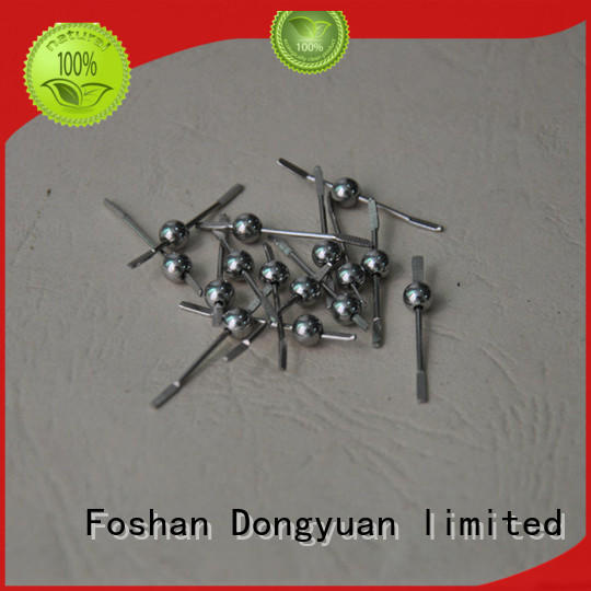 DONGYUAN polish Metal solid balls processing company for outdoor
