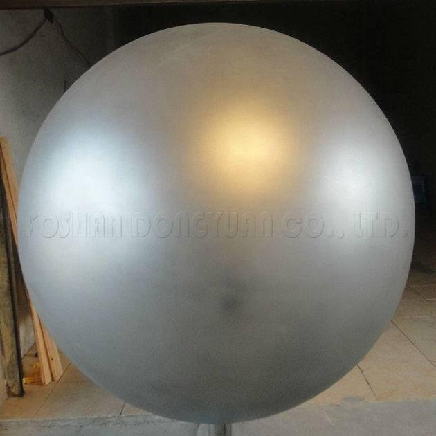 800mm Sandblasted Stainless Steel Hollow Sphere