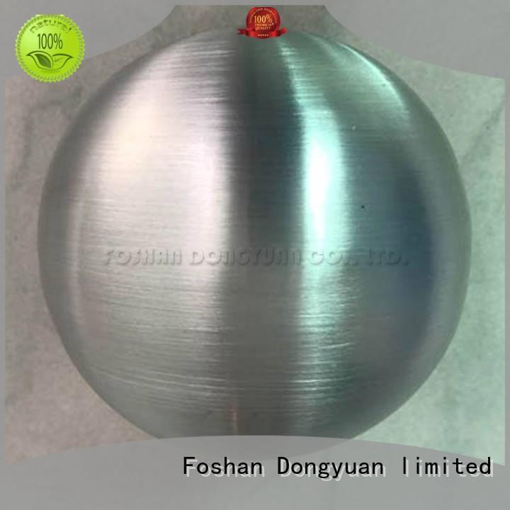 decorative solid aluminum sphere 120mm series for hallway