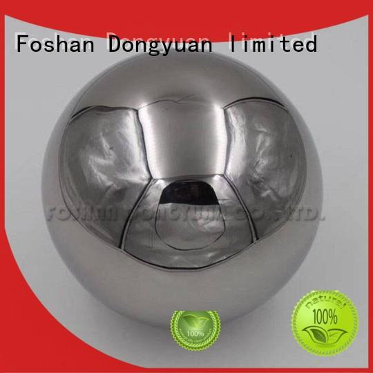 DONGYUAN gazing 6MM to 300MM metal hollow balls for sale for outdoor