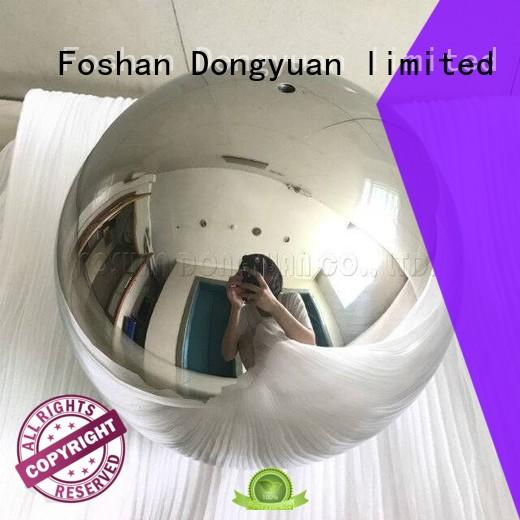 8 Inch Polished Stainless Steel Ball with 2mm Hole